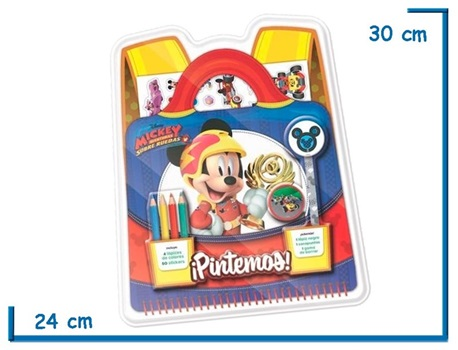 Set Vertice pintemos Mickey