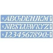 Letrografo Plantec cursiva 20 mm