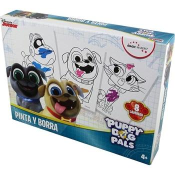 Puppy Dog Pals Set Pinta Y Borra