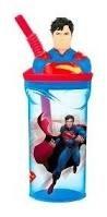 Superman vaso Cresko con figura arriba