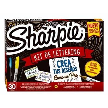 Marcador Sharpie fine x 33 lettering