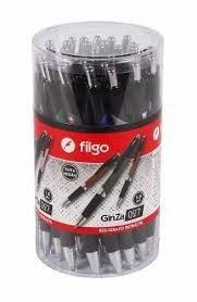 Bolígrafo Filgo ginza 027 retractil azul