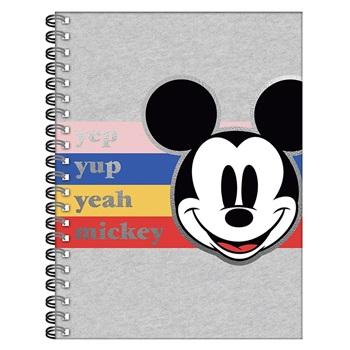 Mickey cuaderno A4 tapa dura 120 hojas
