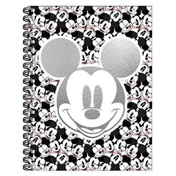 Mickey cuaderno 16 x 21 tapa dura espiral 80 hojas
