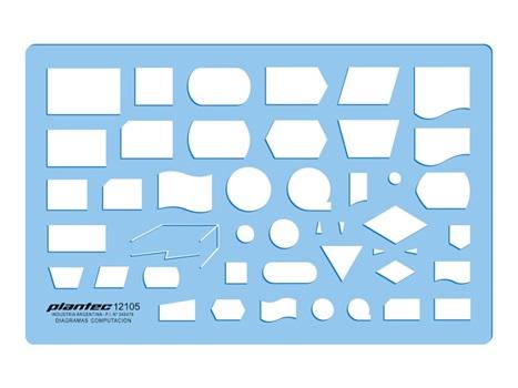 Plantilla Plantec 2105 diagrama computadoras