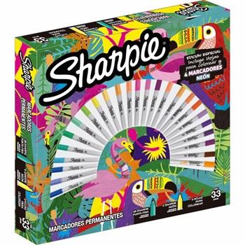 Marcador Sharpie fine x 30 expression