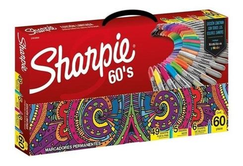 Marcador Sharpie fine x 60 expression