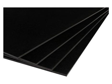 Foamboard 35 x 50 negro 5 mm
