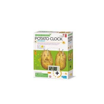 4m-Fm275 Green Science Patato Clock