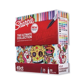 Marcador Sharpie fine x 45 ultimate collection