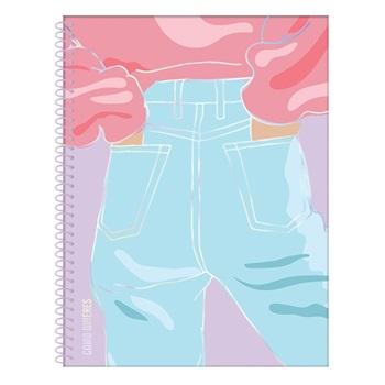 47 Street cuaderno A4 80 hojas semirigida