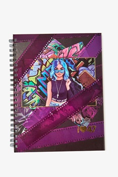 47 Street Cuaderno A4 120hs Tapa Dura