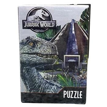 Puzzles Jurassic World X 6 Y 12 Piezas
