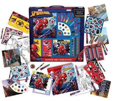 Set Tapimovil Super Creativo Hombre Araña