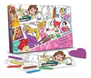 Set Tapimovil Colorear Y Borrar Princesas