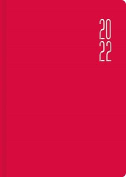 Agenda 2022 Cangini N 8 Semana Miami Rojo 17x24